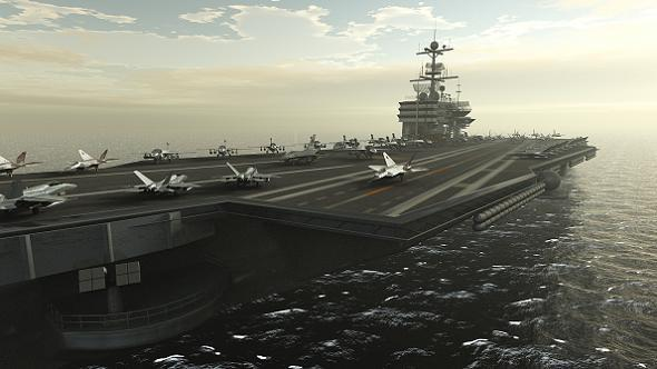 Aircraft Carrier - 3DOcean Item for Sale