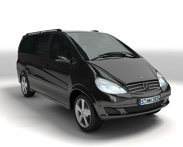 3DOcean Mercedes-Benz Viano 6139558