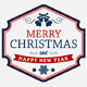 7 Christmas, New Year, Holidays Themed Logos, Stamps, Badges - GraphicRiver Item for Sale