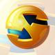 3D Globe & Arrow S Letter - Business Logo - GraphicRiver Item for Sale