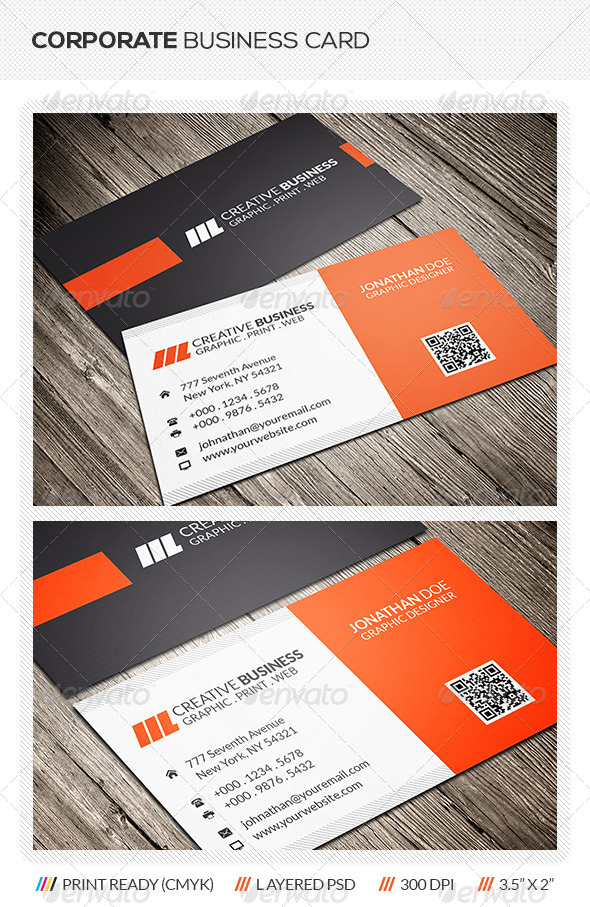 GraphicRiver Corporate Business Card 6116863
