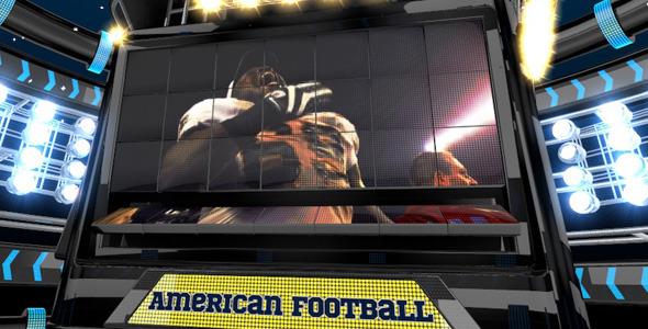 American Football Intro Ident