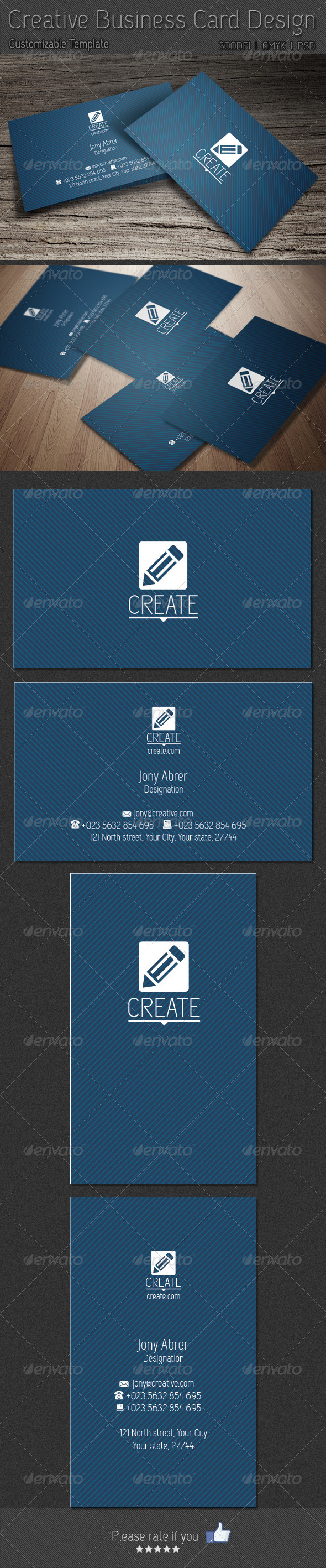GraphicRiver Simple Business Card Design 6163207