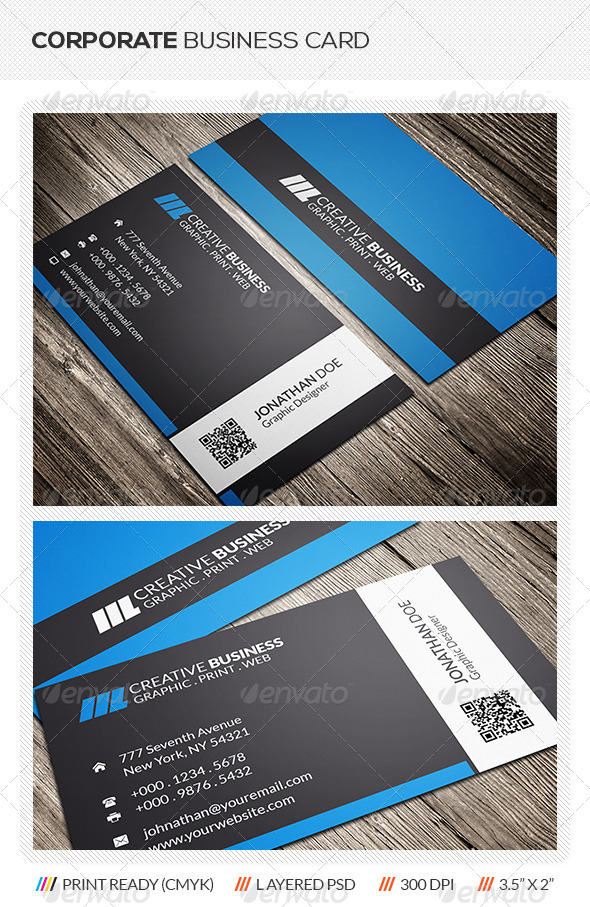 GraphicRiver Corporate Business Card 6163214