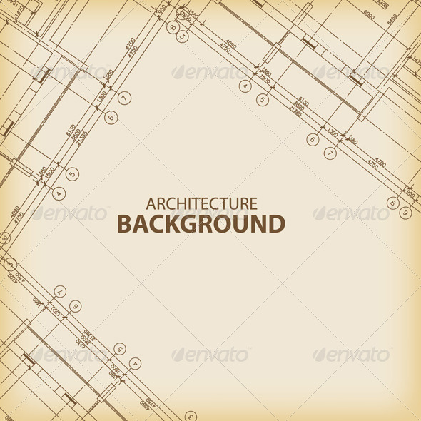 GraphicRiver Old Architecture Background 6163796