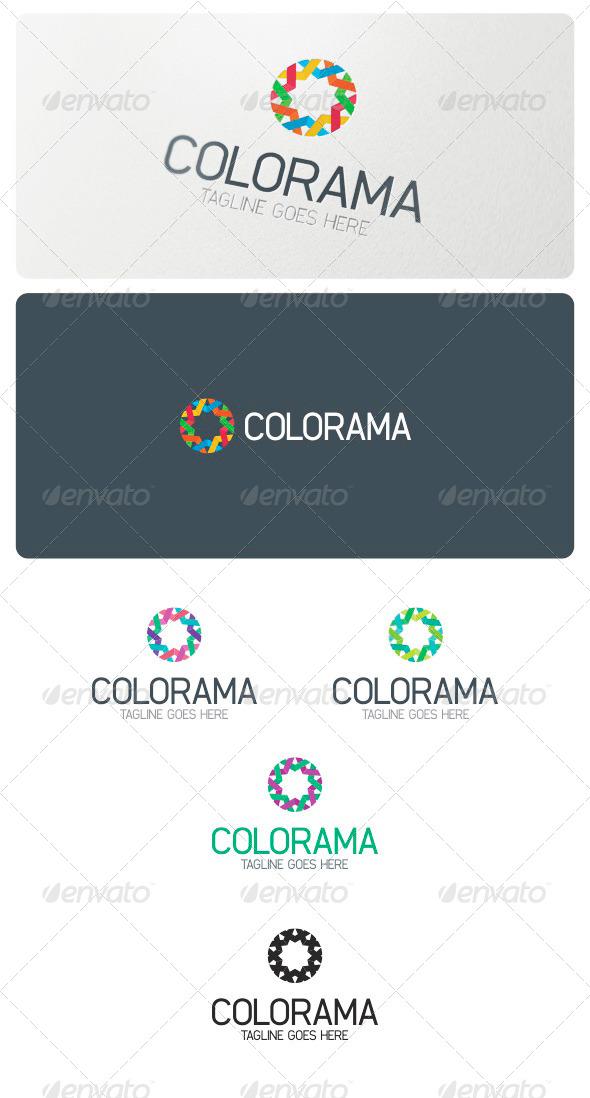 GraphicRiver Colorama Logo Template 6163862