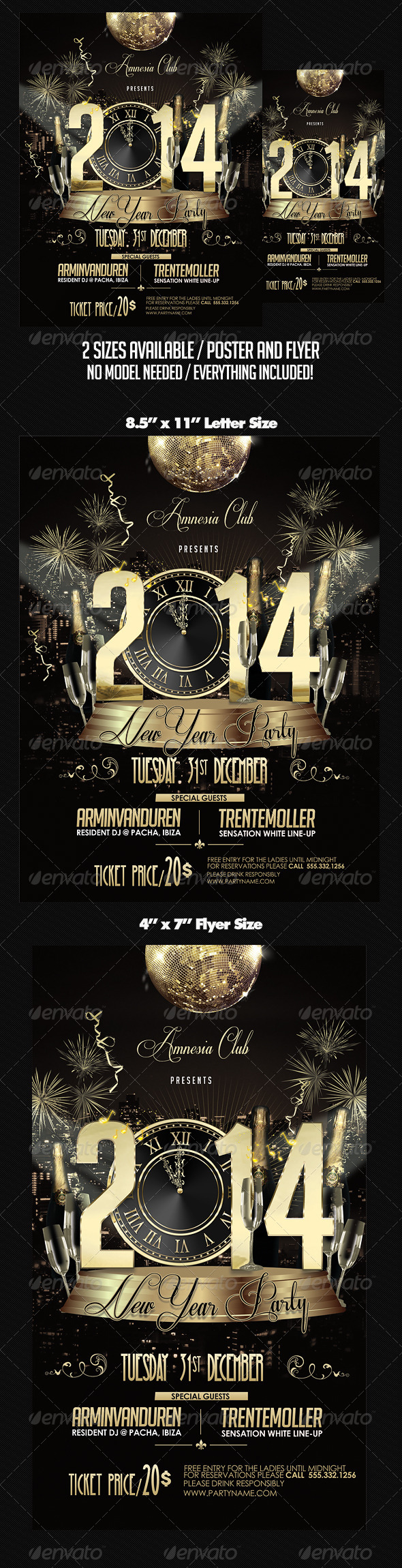 GraphicRiver New Year Party 6163893