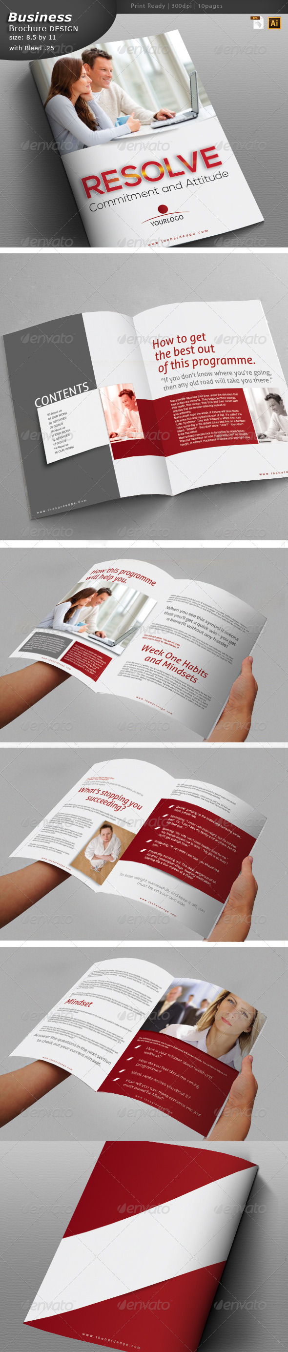 GraphicRiver Business Brochure Design 6132638
