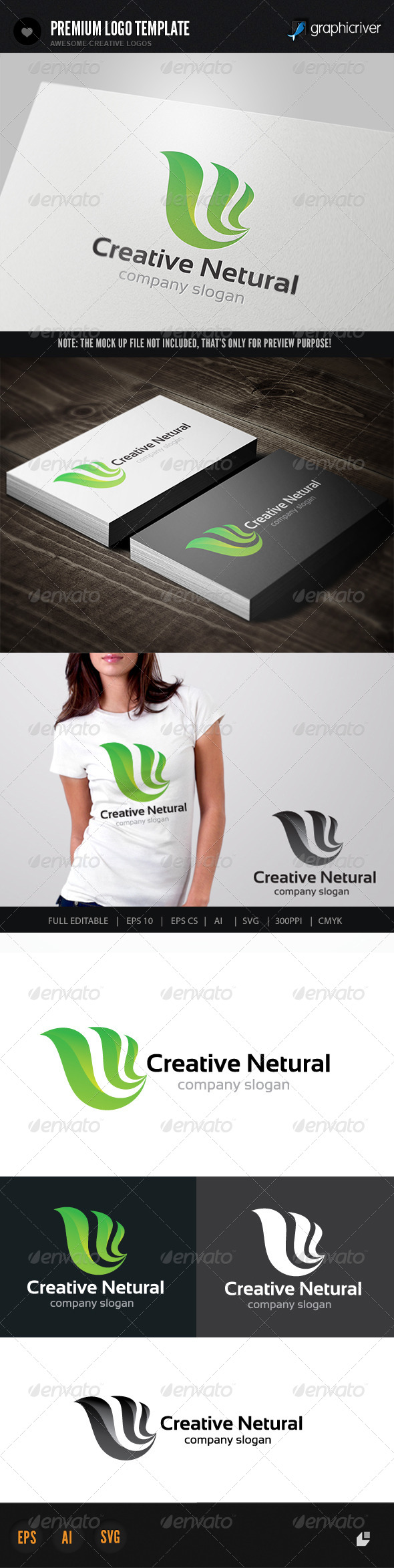 GraphicRiver Creative Netural 6164261