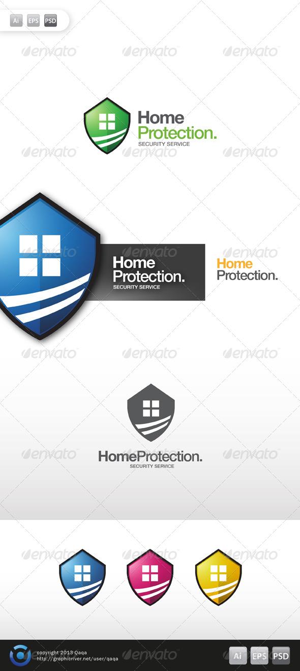 GraphicRiver Home Protection Logo 6164509