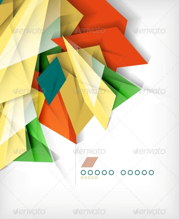 GraphicRiver Business Geometric Shape Abstract Background 6164564