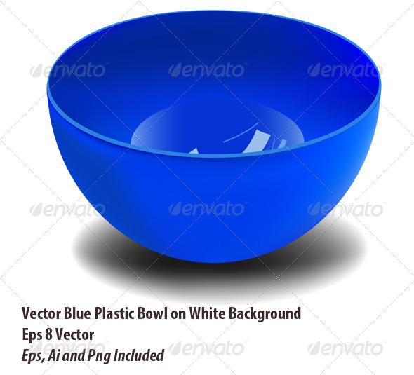 GraphicRiver Plastic Bowl 6164665