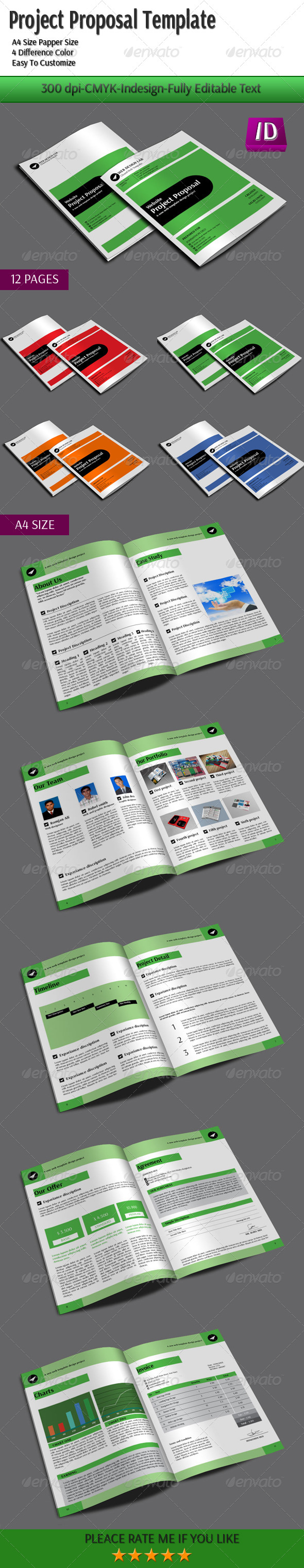 GraphicRiver Project Proposal Template 6161774