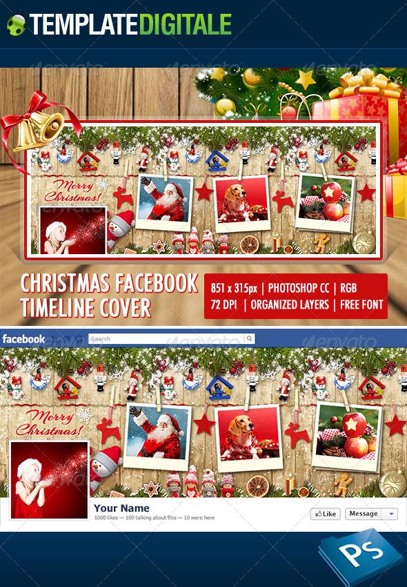 Christmas Facebook Timeline