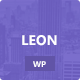 Leon: MultiColor Responsive HTML5 WP Theme - ThemeForest Item for Sale