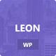 Leon. – MultiColor Responsive HTML5 WP Theme (Portfolio) Download