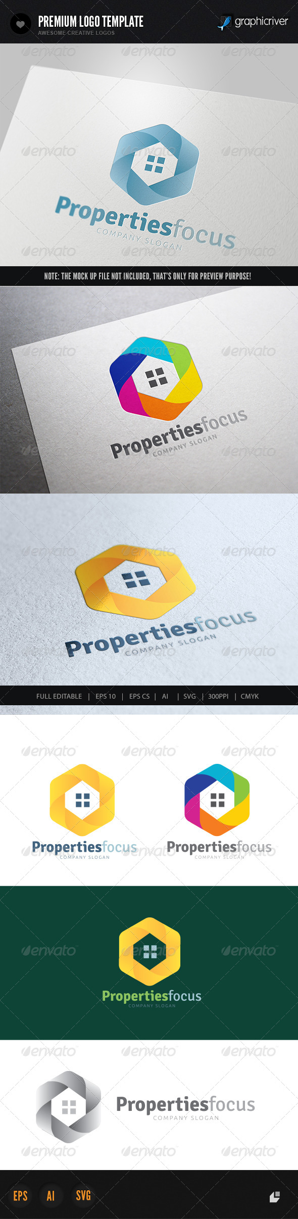 GraphicRiver Properties Focus 6166207