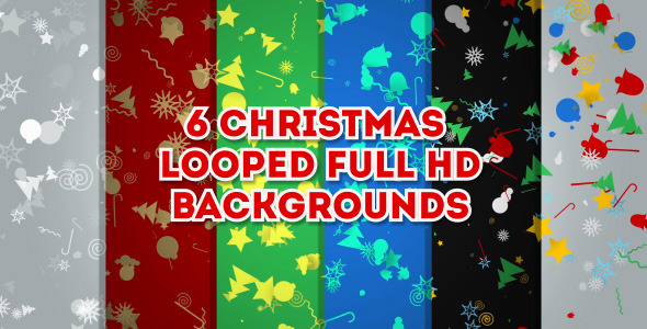 Chrismas Backgrounds Pack