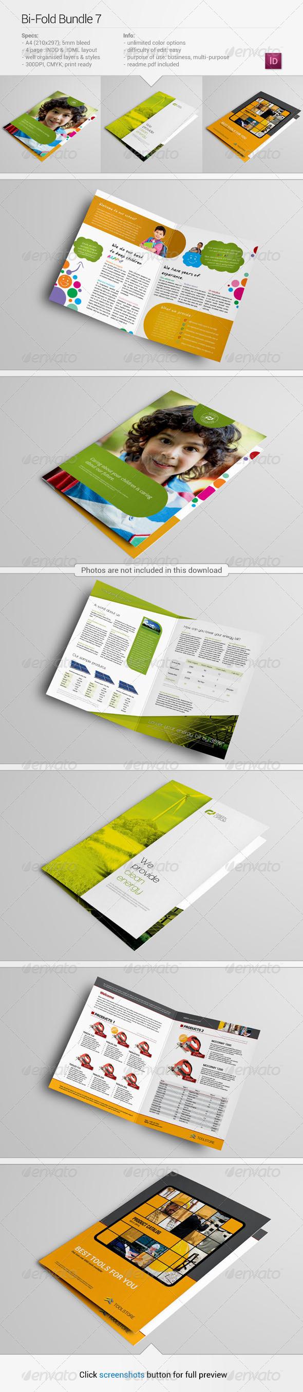 GraphicRiver Bi-Fold Bundle 7 6166528