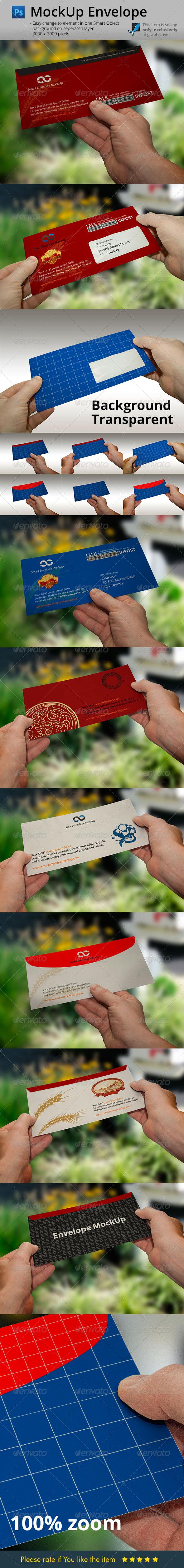 GraphicRiver Envelope Hands Mock-Up 6166629