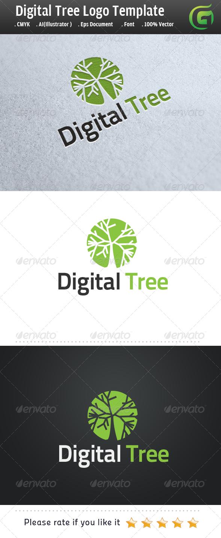 GraphicRiver Digital Tree 6167317