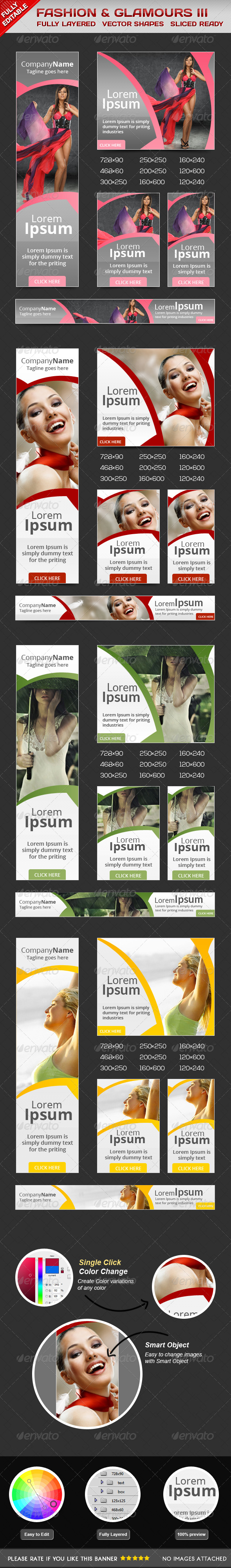 GraphicRiver Fashion Glamorous Banners II 6167470