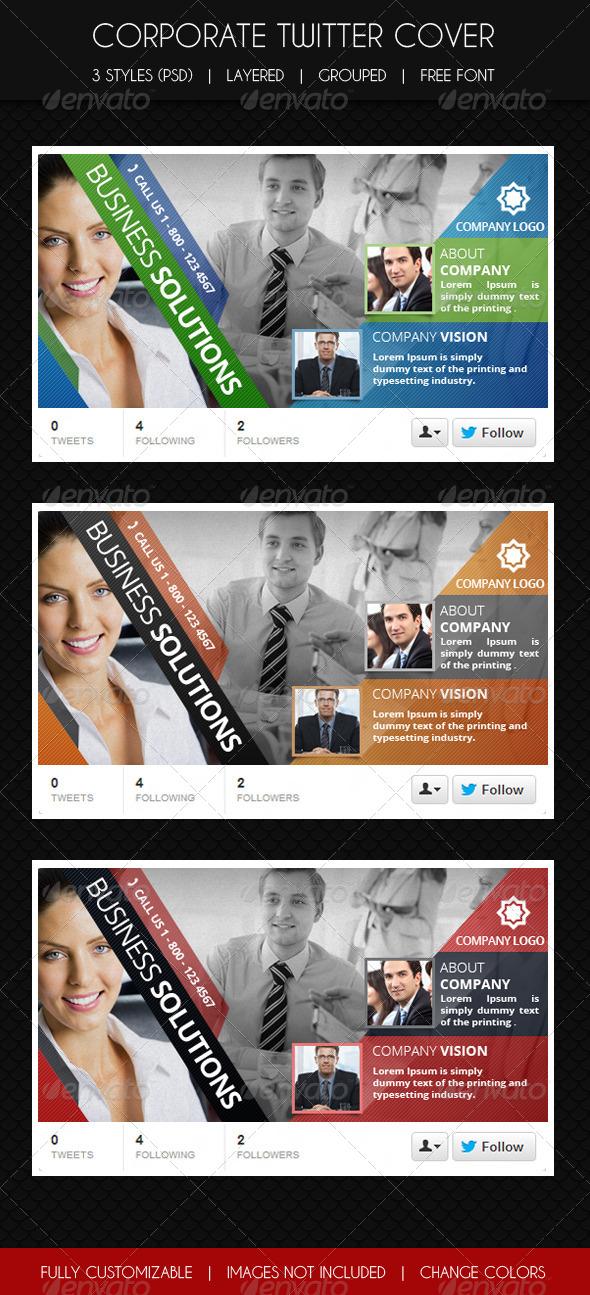 GraphicRiver Multipurpose Corporate Twitter Cover 6167991