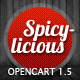 Spicylicious – Premium OpenCart theme
