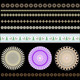 Set of Color Patterns and Borders - GraphicRiver Item for Sale