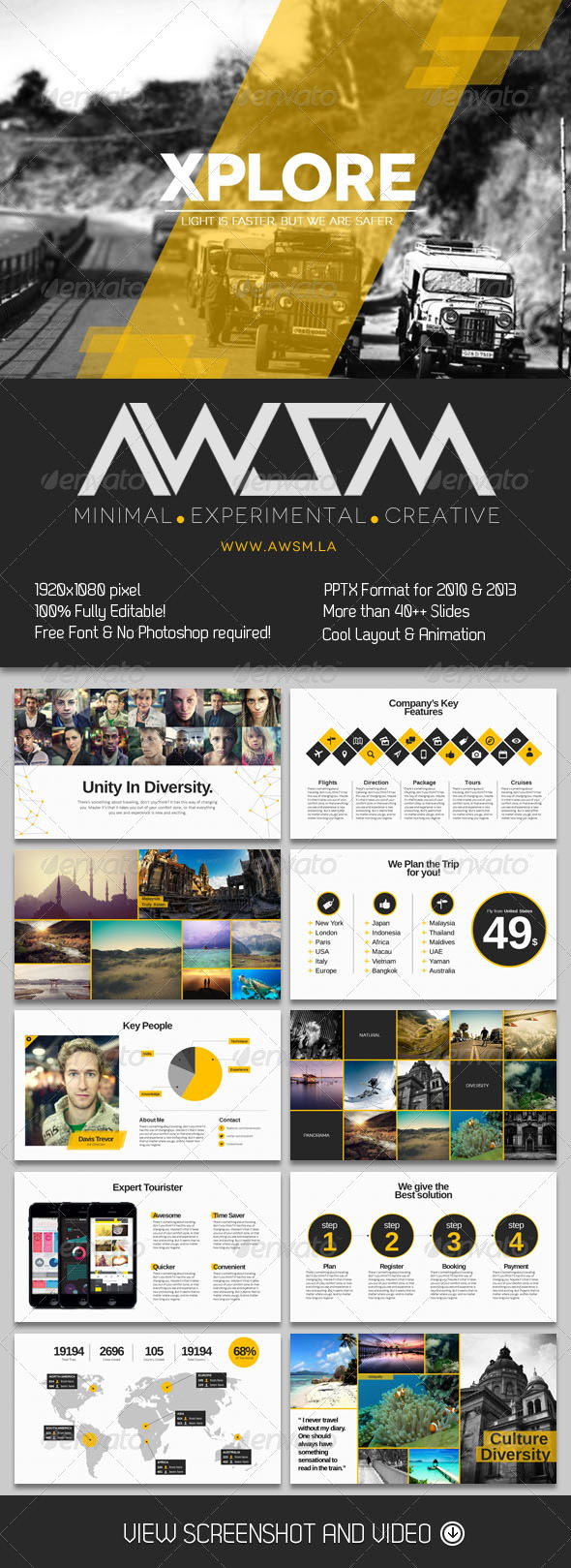 GraphicRiver Xplore Magazine Powerpoint Presentation 6168040