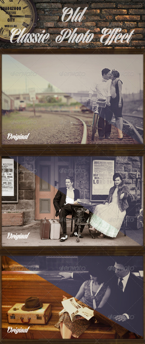 GraphicRiver Old Classic Photo Effect 6168107