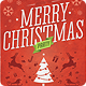 Retro Christmas Party Flyer Template - GraphicRiver Item for Sale