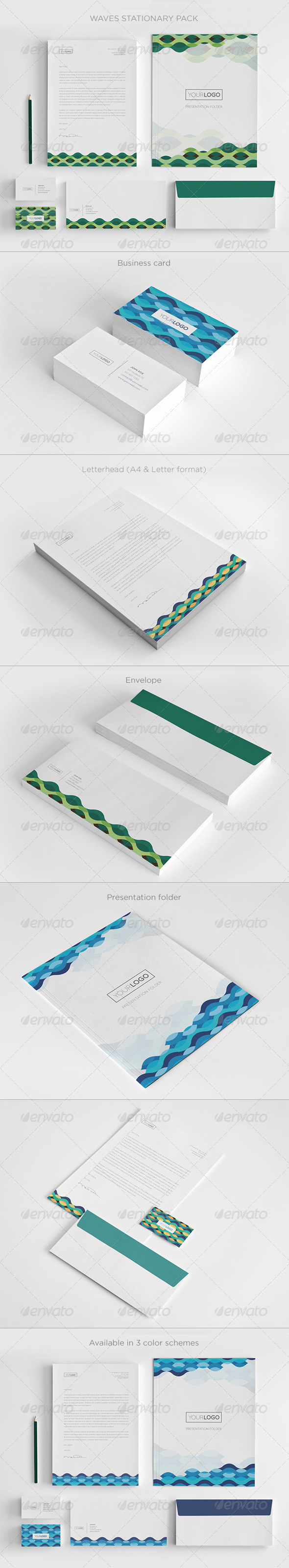 Waves Stationary Pack