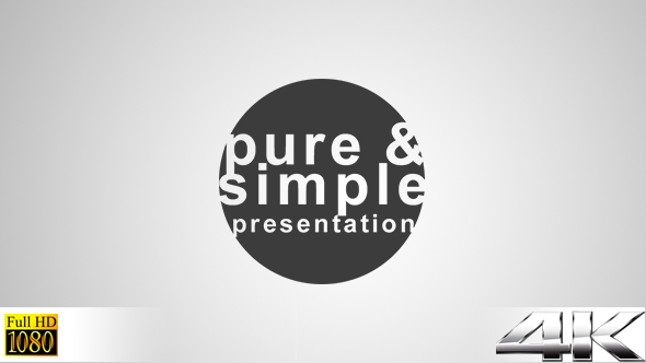 Pure and Simple Presentation