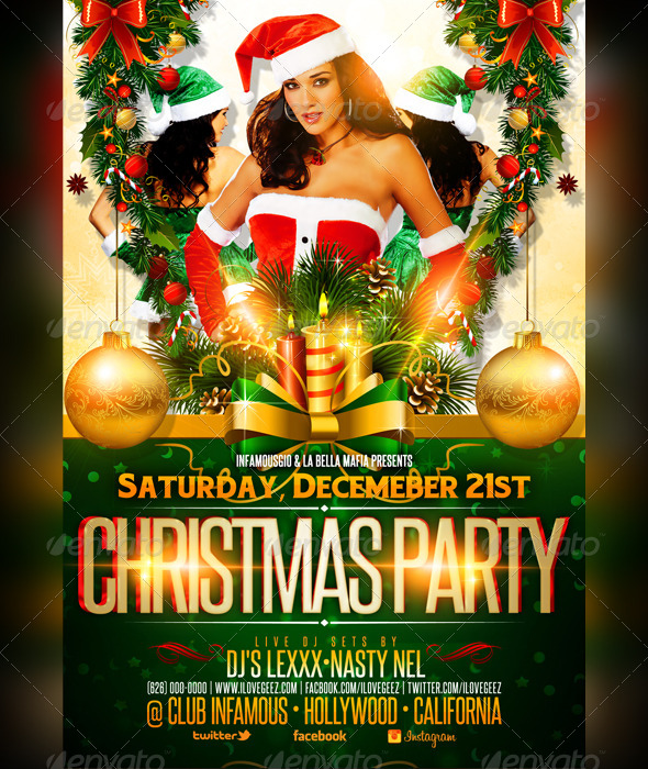 GraphicRiver Christmas Party 6168507