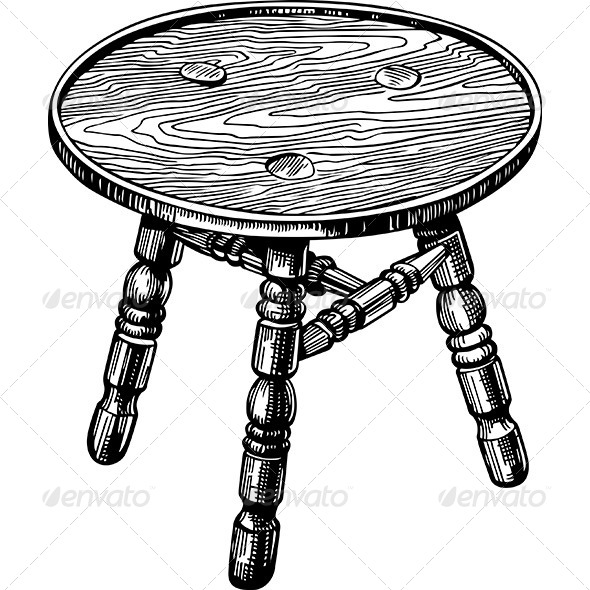 GraphicRiver Stool 6168972