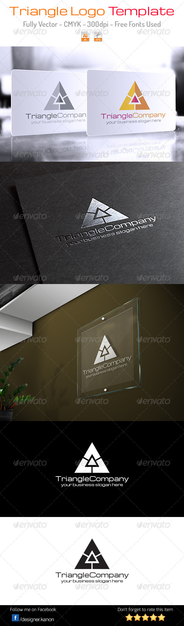 GraphicRiver Triangle Company Logo 6170449