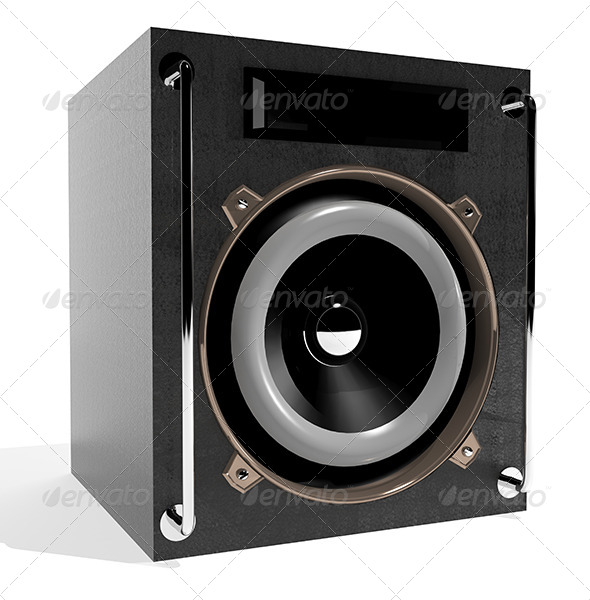 GraphicRiver Subwoofer 6171215