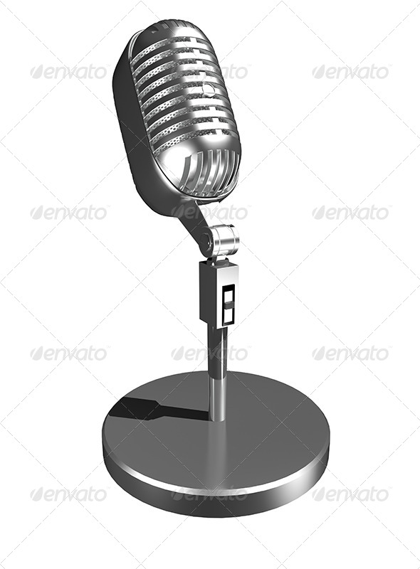 GraphicRiver Microphone 6171291