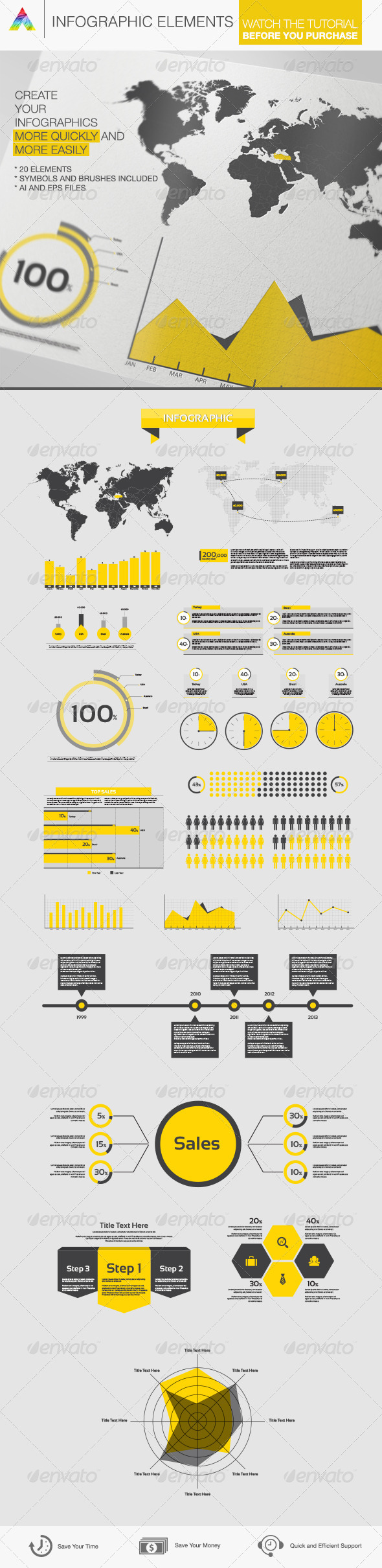 GraphicRiver Infographic Elements 6171381