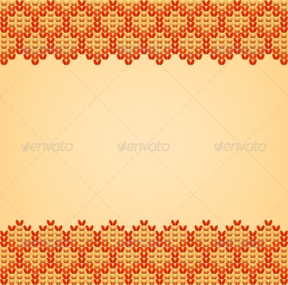 GraphicRiver Color Knitted Wool Pattern Background 6171565