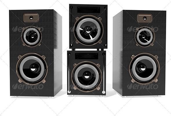 GraphicRiver Speakers 6171567