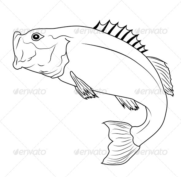 GraphicRiver Jumping Fish 6171811