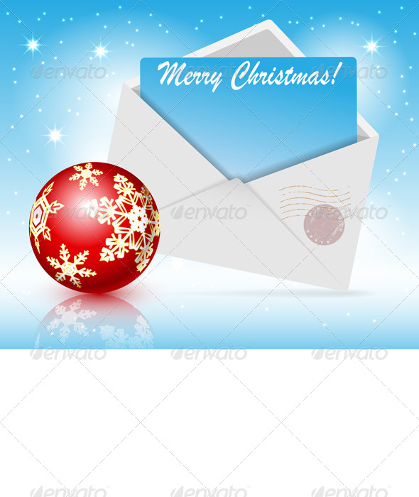 GraphicRiver Christmas Toys and Envelope 6171813