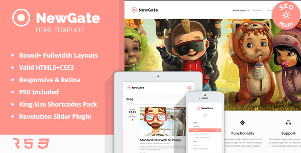 NewGate - Agency/Business HTML5 Template