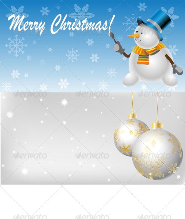 GraphicRiver Christmas Background 6171944