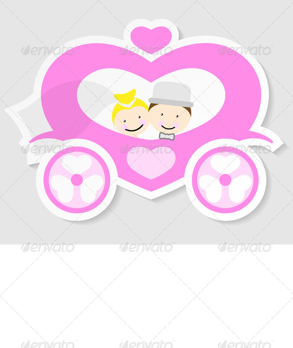GraphicRiver Wedding Carriage 6172161