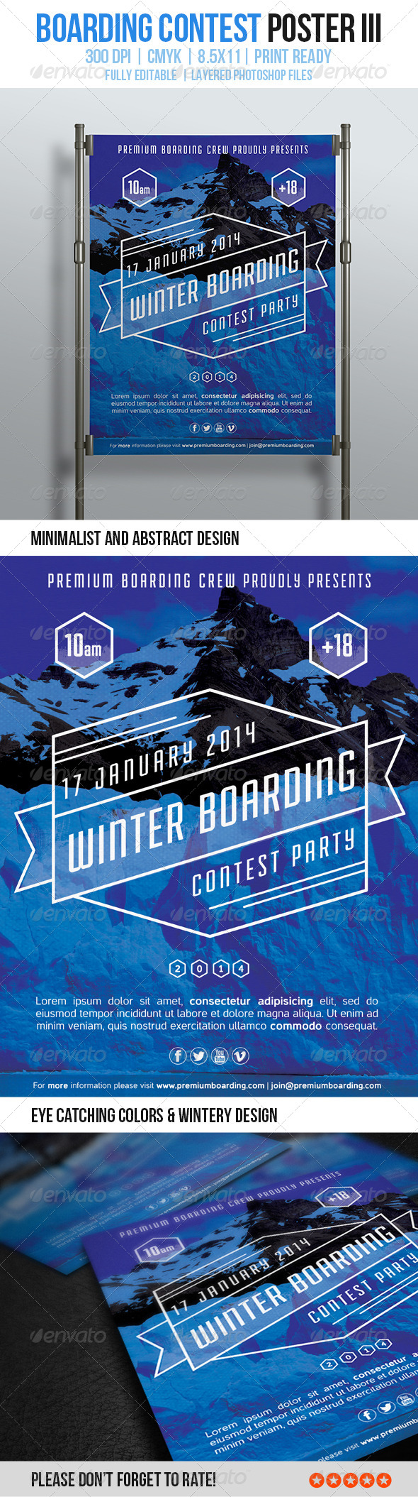 GraphicRiver Boarding Contest Poster III 6172408
