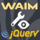 WAIM accessibility tool bar