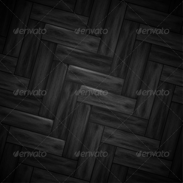Illustrated wood parquet texture